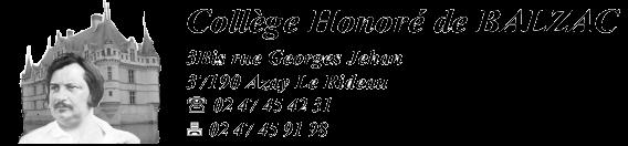 coll 232 ge honor 233 de balzac d azay le rideau site acad 233 mique
